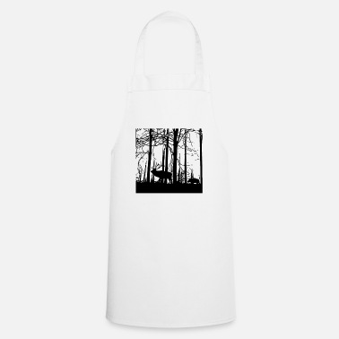 Silhouette silhouette - Cooking Apron