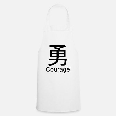 Chinese courage chinese - Cooking Apron