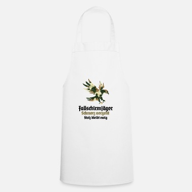 Federal Reserve paratroopers jumper training course promotion - Apron