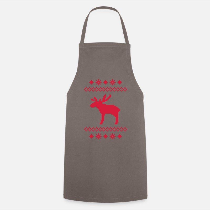 alces caribú renos ciervo noruegos navidad tejer patrón rudolf ...