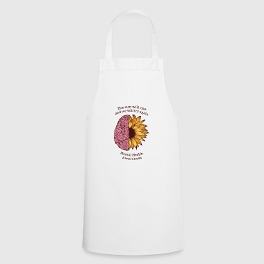 The sun will rise! Health, Health, - Cooking Apron