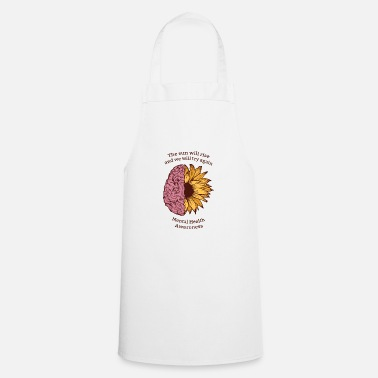Health The sun will rise! Health, Health, - Cooking Apron