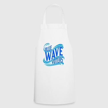Democrat Political Democrat Blue Wave Vote - Cooking Apron
