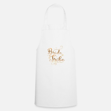 Bride And Groom Bride tribe wedding groom - Apron