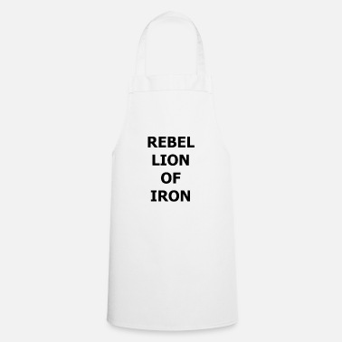 Fer REBELLION DE FER - Tablier de cuisine