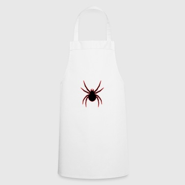Shade Cross Spider Red Neon Gift Arachnophobia - Cooking Apron
