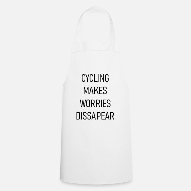 Drive Go By Car Cycling makes worries disappear - Cooking Apron