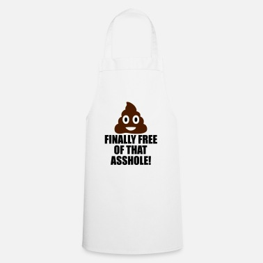 Funny Quotes finally free funny quote - Cooking Apron