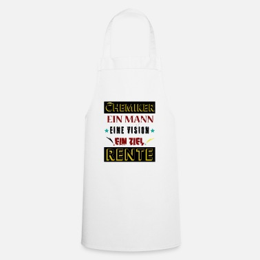 Pharmacy Chemist Shirt · A Husband · Retiree Gift - Cooking Apron
