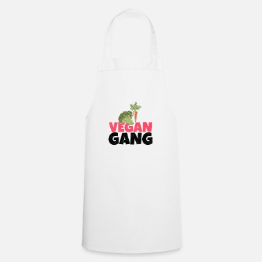 Granny Vegetarian Gang Vegan Environment Animal Animal Welfare - Cooking Apron