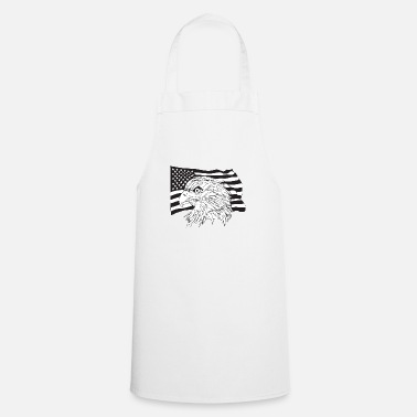 American American Flag with American Eagle - Apron