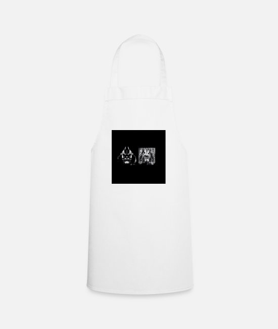 Country Aprons - Rock Pop Jazz Country Pop Punk - Apron white