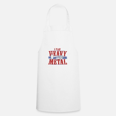 Death Metal Heavy metal brass music - Cooking Apron