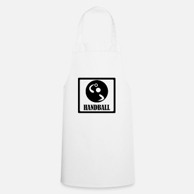 Handball Player Handball Handballer Handball player - Apron