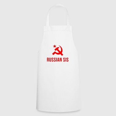 Russian russian sis russian sister - Cooking Apron