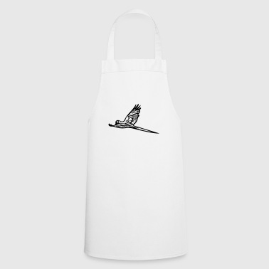 Parrot in flight - Cooking Apron