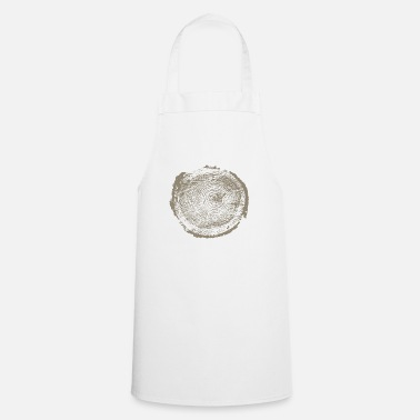 Annual Tree wood annual rings - Apron