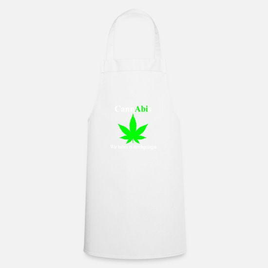 Gift Idea Aprons - High School - Apron white