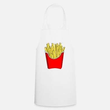 French Fries French fries fries - Apron