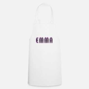 Name Day Emma name first name name day birth gift idea - Cooking Apron