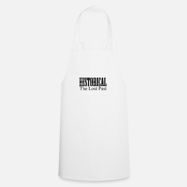 Historical historical the lost past - Apron