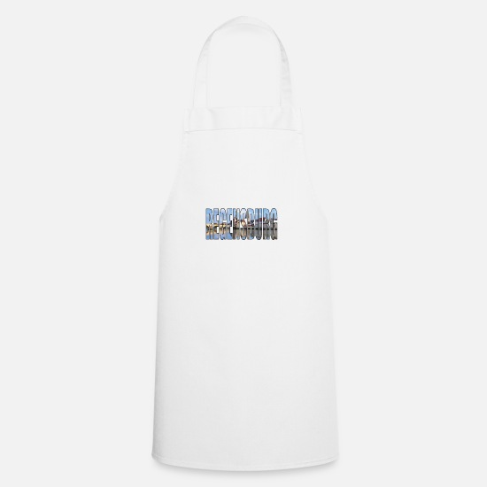 Flag Of Germany Aprons - GERMANY REGENSBURG - Apron white
