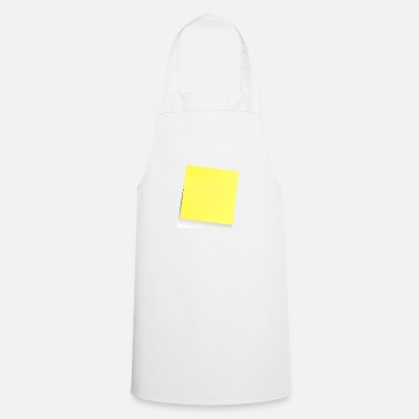 Note Clue yellow sticky note, sticky note, sticky note - Cooking Apron