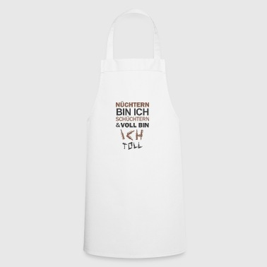 Bachelorette Bachelorette party Soberly shy drinking - Cooking Apron