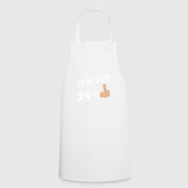 Middle-finger 30th birthday 30 years middle finger gift - Cooking Apron