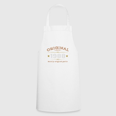 born in 1988 birthday anniversary gift - Cooking Apron