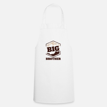 Big Big Brother Big Sister Big Brother Big Badge - Tablier de cuisine