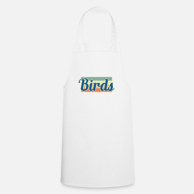 Bird bird birds - Apron