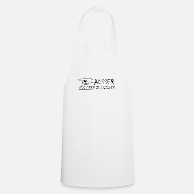 Specific Age except to stay happy - Cooking Apron