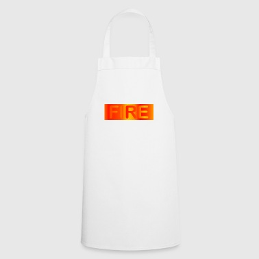 Fire Fire / fire - Cooking Apron