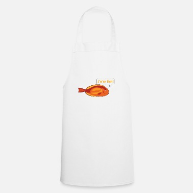 Jm JM IN FISH 2 - Apron