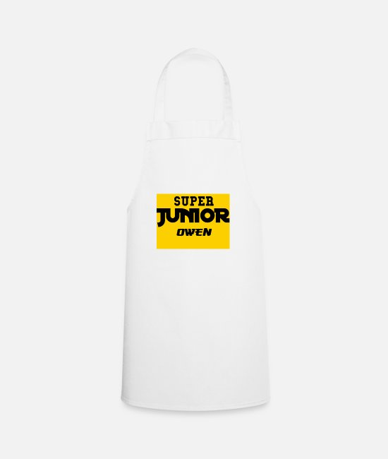 Father's Day Aprons - SJO Big DF Text - Apron white