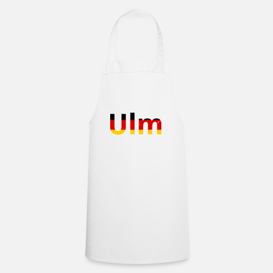 Specialty Aprons - Ulm / Germany / Germany - Grunge Effect - Apron white