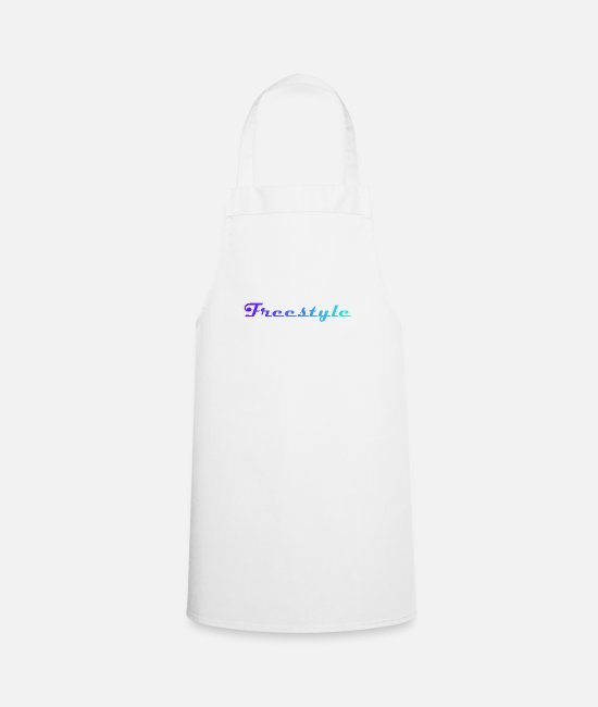 Freestyle Aprons - Freestyle - Apron white