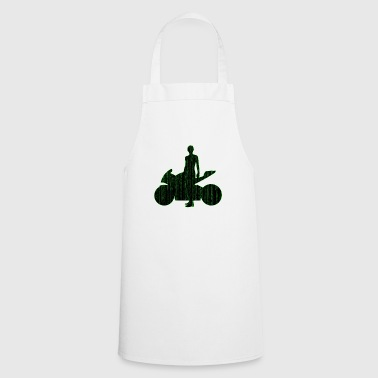 Matrix Biker - Cooking Apron