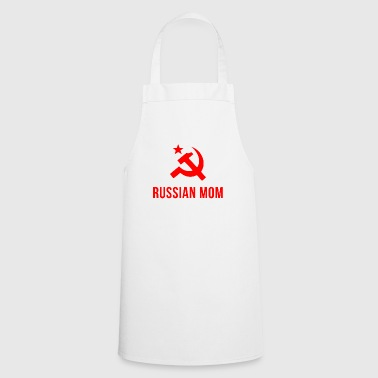 Russian russian mom Russian mother - Cooking Apron