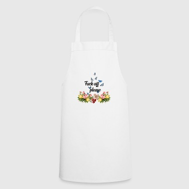 funny witty quote - Cooking Apron