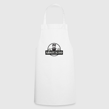 Jurassic Shirtzz - JURASSIC BEARD design - Cooking Apron