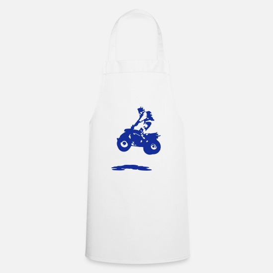 Quad Aprons - quad bike - Apron white