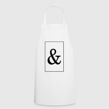 And - black - Cooking Apron