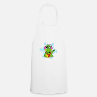 Scene winter Scene - Cooking Apron