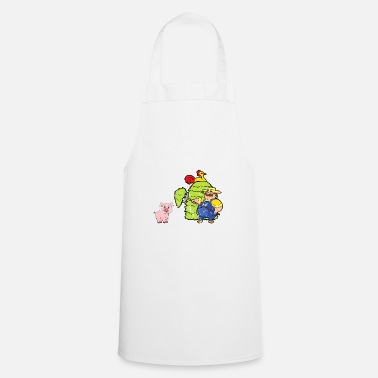 Agriculture Retro Vintage Grunge Style Farm Farmer - Cooking Apron