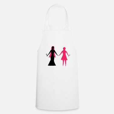 wedding party bridesmaid wedding marriage - Apron