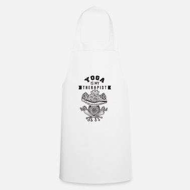 Beauty Therapist Yoga is my therapist - Apron