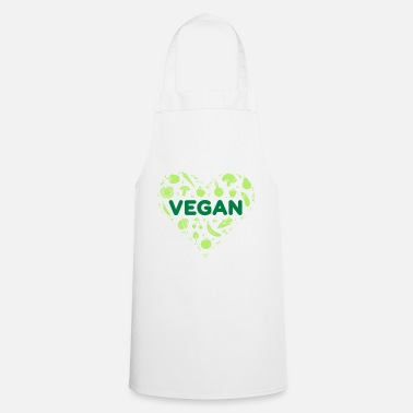 Vegan heart - Apron