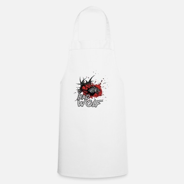 Word Wolf motif of Dropzodon ® - Apron